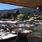 Kioni harbour view from Mills restaurant.2
