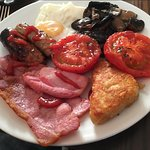 wonderful cooked breakfast (beans were available but not wanted)