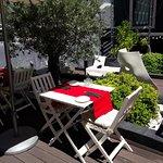 Restaurant Außenbereich