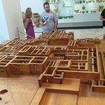 Dřevěný model Knossu
