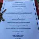 Lunch set menu