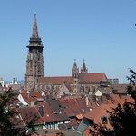 toller Blick auf das Münster