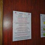 Règlement de l'Hôtel