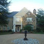 The entrance to the Inn at Poplar Springs