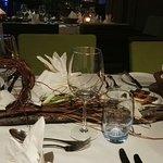 Repas au Tamarina Golf & Resort