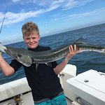 Barracuda met his match with this 12-year-old from Manchester UK