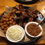 Baby Back Ribs, Hush Puppies, Coleslaw & Baked Beans1
