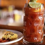 Paradise is known for the best bloody mary's!