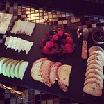 Brie and Fruit plate. Delicious!!!