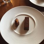 Chocolate and honeycomb option on the tasting menu - try it!
