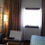 Suite - pie de cama y cortinados en verdes