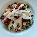 Chicken and chorizo salad, Cafe Alba.