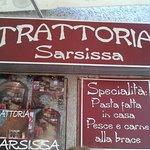 Trattoria Sarsissa Foto