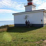 The Lighthouse on Cape d'Or Foto