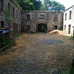 These are the old stables that have been newly renovated.
