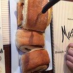 Cinnamon bread real good!