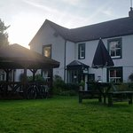 The Monkton Inn beer garden