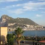 Fantastic view of Gibraltar from room 428