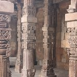 Columns of ancient temple