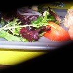 tartare de saumon aux crustacés