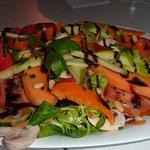 salade maraichère fruits et légumes de saison