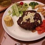 Steak on board!