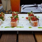 Watermelon Shrimp Roll, Yummy!