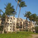 Kihei Beach Resort from the beach