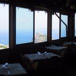 Sala da pranzo con vista