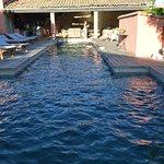piscine de la maison d'hôte