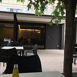 Terraza del Bar - Hostal Vertisol