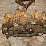 detalles de la decoración medieval