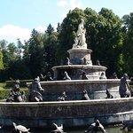 Lake Chimsee - Herrenchiemsee New Palace Fountain
