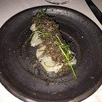 Black truffle sashimi