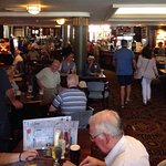 August Bank Holiday: lunchtime packed! Brilliant pub with great food.