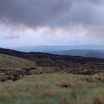 landschap rond vulkaan masaya
