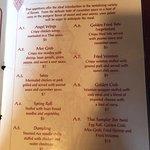 More of their menu