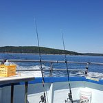 I'm definitely not a fisherman, but I caught a 27 inch cod on this awesome fishing trip during m