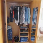 Lots of wardrobe space!