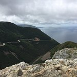 View of Cabot Trail from the Skyline Trail