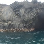 The caves at the southern-most tip of Maui