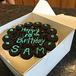 Photos from Moomers selections.  Ice cream cake for a birthday boy