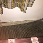 carpet was lifting...signs of excess moisture