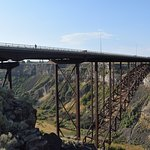 Bridge over Snake River, just south of hotel - great gorge views!