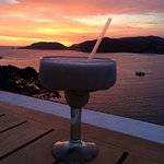 The best view and Pina Colada ever!