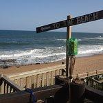Playa de Ballito a pocos Km al norte de Umhlanga