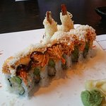 "The ""Incredible Roll"" at Saga Fusion, Wareham, MA."