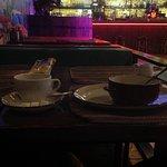 Кофе с молоком и кашка манная