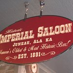 Imperial Saloon sign