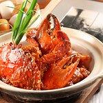 Singapore's Chilli Crab in Claypot